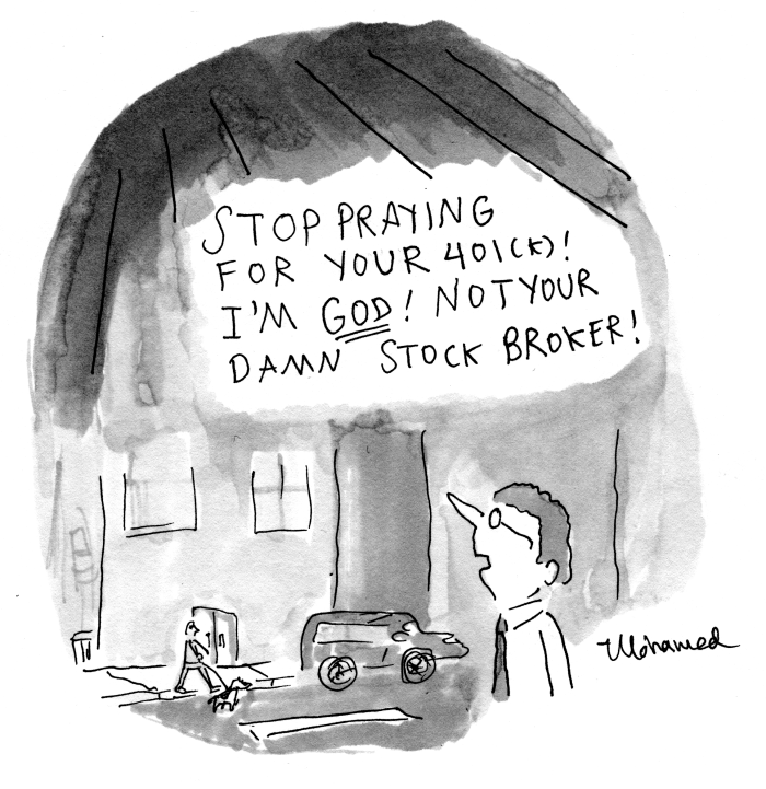 Stop praying for your 401