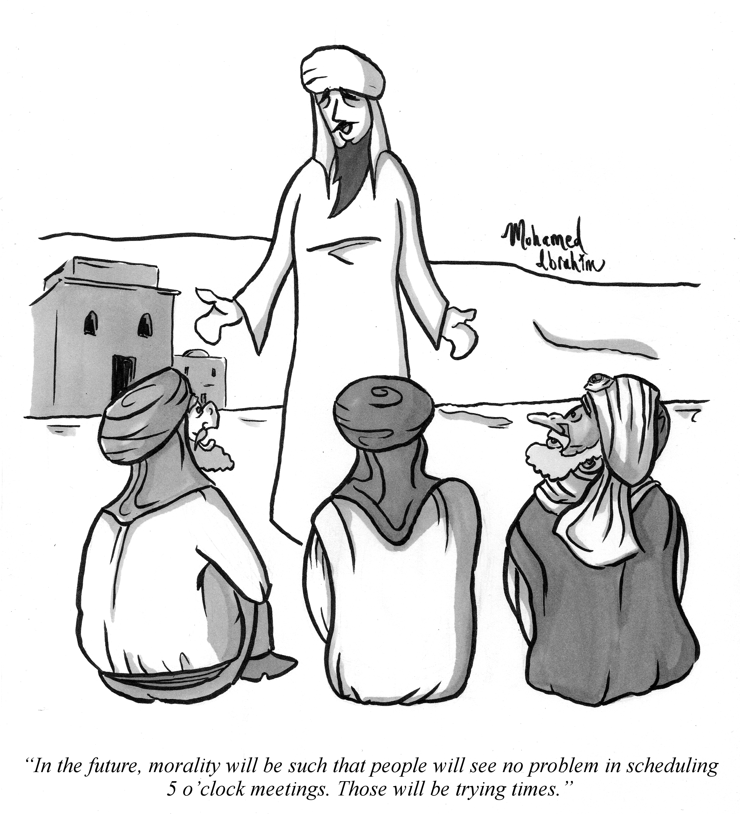 muhammad portends moral decay