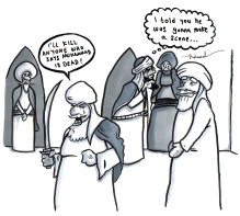 the-death-of-muhammad-with-caps